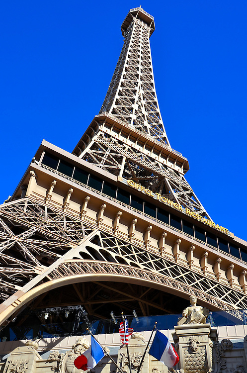 Paris Hotel Eiffel Tower Replica In Las Vegas Nevadabr The