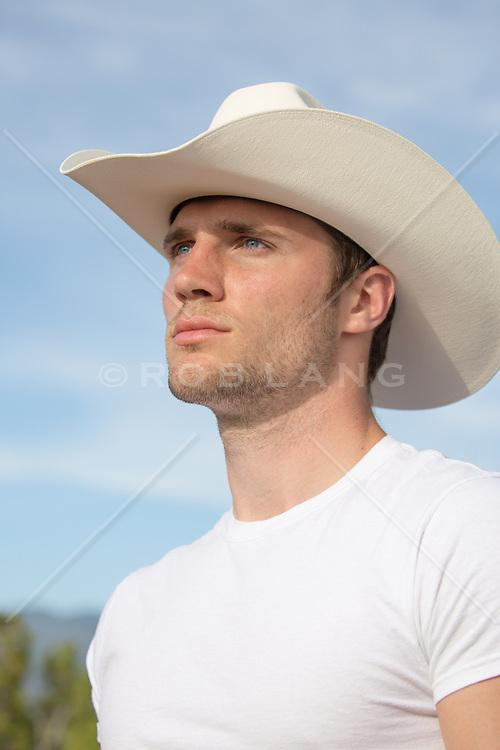 Portrait of an All American Cowboy
