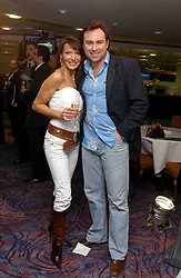 JASON & LIZZIE CUNDY at a sales event for the exclusive Chelsea Bridge Wharf in aid of CLIC Sargeant cancer charity held at Stamford Bridge football stadium, Chelsea, London on 7th February 2006.<br /><br />NON EXCLUSIVE - WORLD RIGHTS