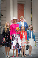 27-4-2016 ZWOLLE - Kingday in Zwolle , King Willem-Alexander, Queen Maxima, Princess Amalia, Princess Alexia and Princess Ariane is April 27, 2016 attended the celebration of King's Day in the town of Zwolle, in the province of Overijssel. Prince Constantijn and Princess Laurentien, Prince Maurits and Princess Marilène, Prince Bernhard and Princess Annette, Prince Pieter-Christiaan and Princess Anita and Prince Floris and Princess Aimée are also provided at Kingday in Zwolle. COPYRIGHT ROBIN UTRECHT<br /> 27-4-2016 ZWOLLE - Koningsdag in Zwolle Koning Willem-Alexander, Koningin Maxima, Prinses Amalia , Prinses Ariane en prinses Alexia zijn 27 april 2016 aanwezig bij de viering van Koningsdag in de gemeente Zwolle, in de provincie Overijssel. Prins Constantijn en Prinses Laurentien, Prins Maurits en Prinses Marilène, Prins Bernhard en Prinses Annette, Prins Pieter-Christiaan en Prinses Anita én Prins Floris en Prinses Aimée zijn ook aanwezig bij Koningsdag in Zwolle. COPYRIGHT ROBIN UTRECHT