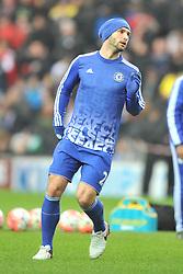 BRANISLAV IVANOVIC CHELSEA,  MK Dons v Chelsea,  FA Cup 4th Round Stadium MK Sunday 31st January 2016