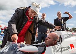20.06.2015, Red Bull Ring, Spielberg, AUT, FIA, Formel 1, Grosser Preis von Österreich, Legendenrennen, im Bild Niki Lauda (AUT) // during the Legend race of the Austrian Formula One Grand Prix at the Red Bull Ring in Spielberg, Austria, 2015/06/20, EXPA Pictures © 2015, PhotoCredit: EXPA/ Dominik Angerer