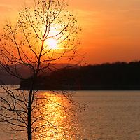 Sunset at Beaver Lake<br /> Beaver Lake<br /> Ozarks<br /> Northwest Arkansas