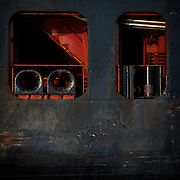 A view of the Georgia Ports Authority Garden City Terminal from the Savannah River aboard a Crecent Tug boat Bulldog, , Tuesday, Aug. 11, 2015, near Savannah, Ga.  (GPA Photo/Stephen B. Morton)