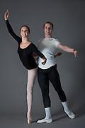 Bay Pointe Ballet company headshots photographed in Burlingame, California, on August 30, 2013. (Stan Olszewski/SOSKIphoto)