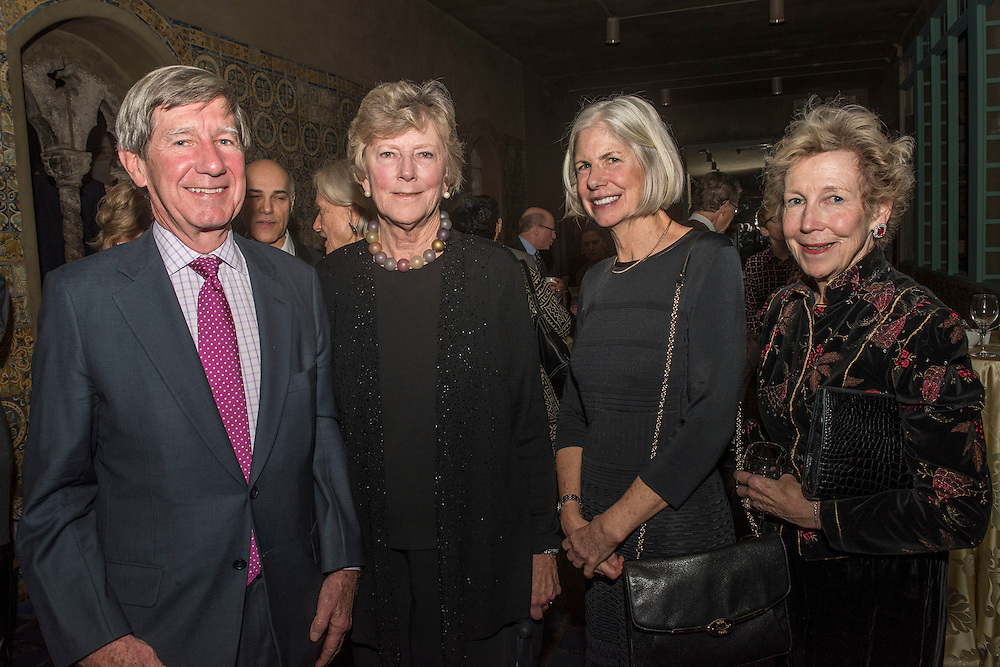 December 15, 2015, Boston, MA:<br /> Guests attend a farewell celebration for Anne Hawley at the Isabella Stewart Gardner Museum in Boston, Massachusetts Tuesday, December 15, 2015.<br /> (Photo by Billie Weiss/Isabella Stewart Gardner Museum)
