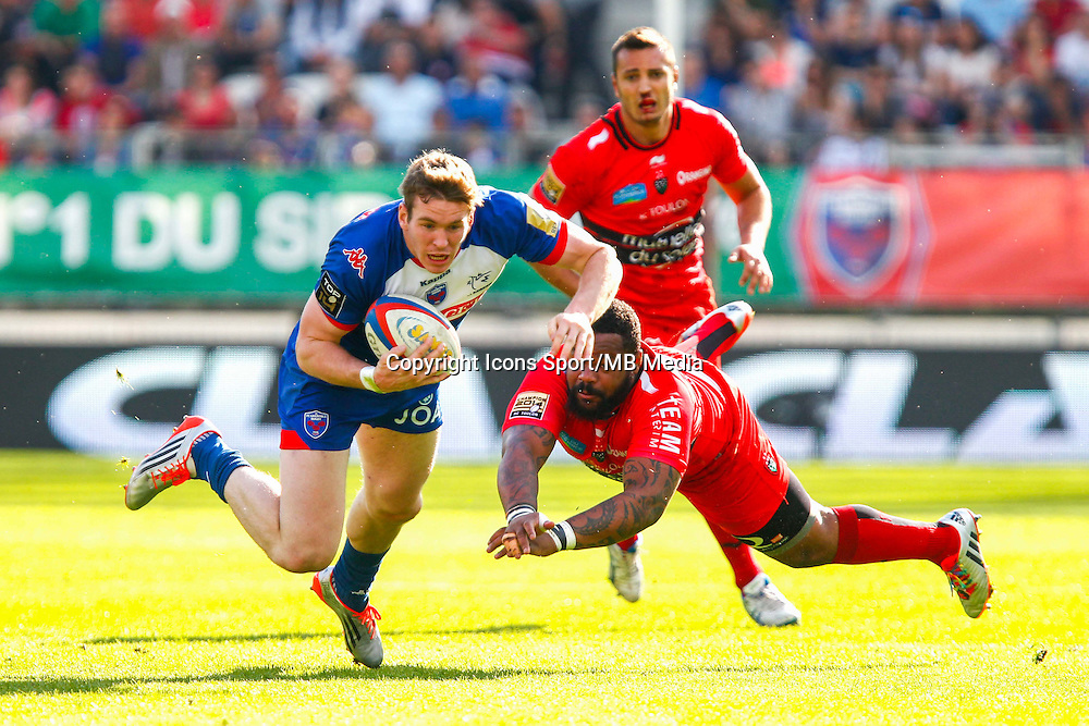 Paul WILLIEMSE / Mathieu BASTAREAUD  - 11.04.2015 - Grenoble / Toulon  - 22eme journee de Top 14 <br />