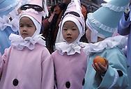 BEL, Belgium, Namur, Fosses-la-Ville, carnival, the Chinels.....BEL, Belgien, Namur, Fosses-la-Ville, Karneval, die Chinels.........