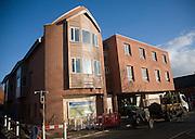 New housing development, Scholars Court, Woodbridge, Suffolk, England