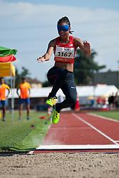 TAYLOR Lakeria, USA, Long Jump, T11, 2013 IPC Athletics World Championships, Lyon, France