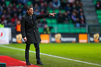 Philippe MONTANIER  - 25.01.2015 - Rennes / Caen  - 22eme journee de Ligue1<br /> Photo : Vincent Michel / Icon Sport *** Local Caption ***