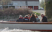 London, Great Britain, The Newton Women's Boat Race, Men's Race , Championship Course.  River Thames. Putney to Mortlake. ENGLAND. <br /> <br /> 17:06:44  Saturday  11/04/2015<br /> <br /> [Mandatory Credit; Peter Spurrier/Intersport-images]<br /> <br /> OUWBC Crew: <br /> Maxie SCHESKE, Anastasia CHITTY, Shelley PEARSON, Lauren KEDAR, Maddy BADCOTT, Emily REYNOLDS, Nadine GRAEDEL IBERG, Caryn DAVIES and Cox Jennifer EHR