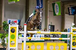 Van Doorslaer Emma, BEL, Ottawa vh Verbrandgoed<br /> Nationaal Indoor Kampioenschap Pony's LRV <br /> Oud Heverlee 2019<br /> © Hippo Foto - Dirk Caremans<br /> 09/03/2019