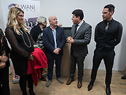 JUSTINE PICARDO,;  PAUL COSQUIERI; FIRST MINISTER; FABIAN PICARDO;KARL ULLGER  Gibraltar as seen by five artists. private view hosted by the Chief Minister of Gibraltar. Art Bermondsey project Space. 24 October 2017