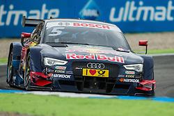17.10.2015, Hockenheimring, Hockenheim, GER, DTM, Hockenheim, im Bild Mattias Ekstroem (Audi RS5 DTM) im Rennen // during the DTM Championship Race at the Hockenheimring in Hockenheim, Germany on 2015/10/17. EXPA Pictures © 2015, PhotoCredit: EXPA/ Eibner-Pressefoto/ Neis<br /> <br /> *****ATTENTION - OUT of GER*****