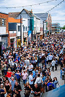 Humber Street, Kingston Upon Hull, East Yorkshire, United Kingdom, 05 August, 2017. Pictured: Humber Street SESH