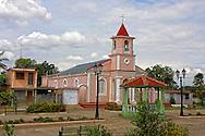 Church in Rodas, Cienfuegos, Cuba.