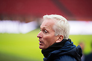 AMSTERDAM, NEDERL&Auml;NDERNA - 2017-10-09: H&aring;kan Sj&ouml;strand under tr&auml;ning inf&ouml;r FIFA 2018 World Cup Qualifier mellan Nederl&auml;nderna och Sverige p&aring; Amsterdam ArenA  den 9 oktober, 2017 i Amsterdam, Nederl&auml;nderna. <br /> Foto: Nils Petter Nilsson/Ombrello<br /> ***BETALBILD***