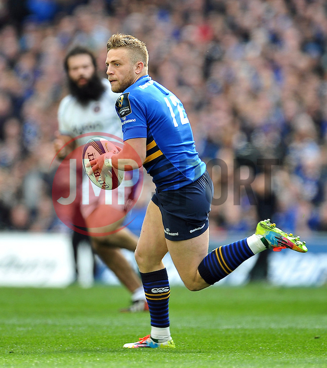 Ian Madigan of Leinster in possession - Photo mandatory by-line: Patrick Khachfe/JMP - Mobile: 07966 386802 04/04/2015 - SPORT - RUGBY UNION - Dublin - Aviva Stadium - Leinster Rugby v Bath Rugby - European Rugby Champions Cup