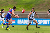Sunday 10 April 2016<br /> <br /> 2016 Peter Jackson VFL Season<br /> <br /> Round 1<br /> Footscray vs Northern Blues<br /> Written Oval<br /> <br /> #PJVFL #WeMarchNorth<br /> <br /> Photo Credit: Tim Murdoch/Tim Murdoch Photography