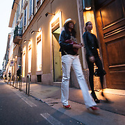 Il FuoriSalone 2010 nelle vie di centrali Milano, Via Sant'Andrea<br /> <br /> Street life in Sant'Andrea street during the International Furniture show in Milan