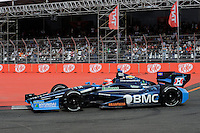 Rubens Barrichello, Sao Paulo Indy 300, Streets of Sao Paulo, Sao Paulo, Brazil 04/29/12