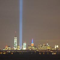 9-11 Memorial Lights