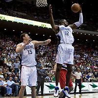 BASKETBALL - NBA - ORLANDO (USA) - 10/11/2008 -  .ORLANDO MAGIC V PORTLAND TRAIL BLAZERS (99-106) - DWIGHT HOWARD / ORLANDO MAGIC, HEDO TURKOGLU / ORLANDO MAGIC