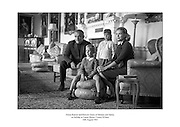 Prince Rainier and Princess Grace of Monaco and family pictured at Carton House, County Kildare.<br />