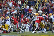 Ole Miss quarterback Barry Brunetti (11) vs. LSU at Tiger Stadium in Baton Rouge, La. on Saturday, November 17, 2012.....