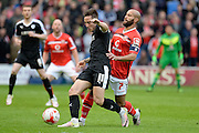 Barnsley midfielder (on loan from Preston North End) Josh Brownhill during the Sky Bet League 1 play-off second leg match between Walsall and Barnsley at the Banks's Stadium, Walsall, England on 19 May 2016. Photo by Dennis Goodwin.