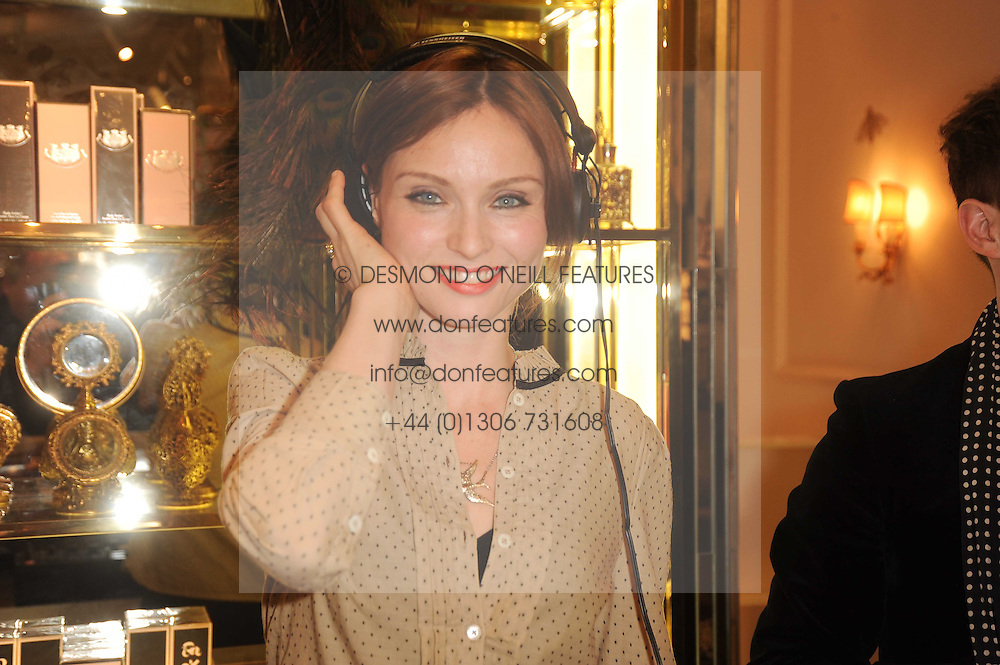 SOPHIE ELLIS-BEXTOR at Juicy Couture, Bruton Street as part of Fashion's Night Out held around London on 8th September 2010.