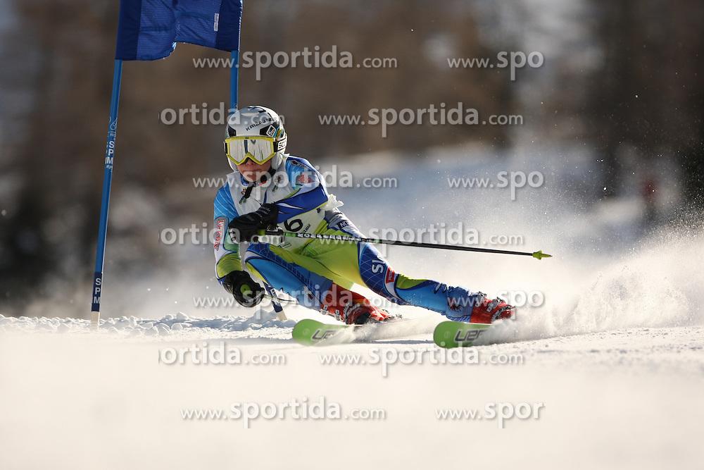 49° TROFEO TOPOLINO SCI -  INTERNATIONAL YOUTH SKI   CRITERIUM FIS - ITALY..© Pierre Teyssot / Sportida.com..Luka KRIZAJ (SLO) during the first day of the Topolino on 06/03/2010 in Valsugana, Italy.