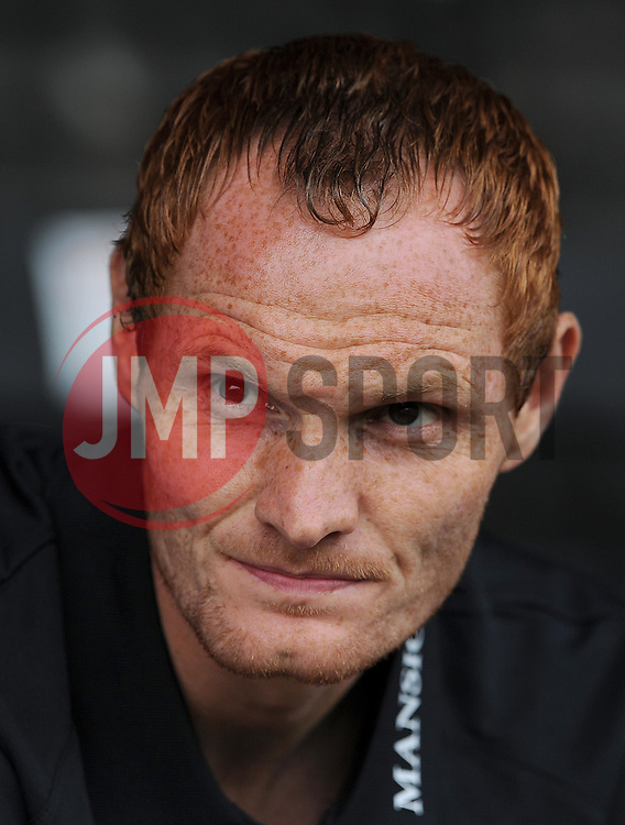 Bournemouth's Shaun MacDonald- Photo mandatory by-line: Harry Trump/JMP - Mobile: 07966 386802 - 18/07/15 - SPORT - FOOTBALL - Pre Season Fixture - Exeter City v Bournemouth - St James Park, Exeter, England.