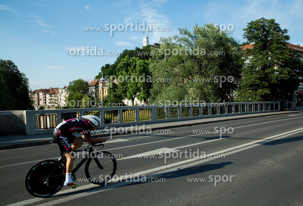 MISKULIN Jure (Slovenia) of Radenska Ljubljana competes during Stage 1 of 22nd Tour of Slovenia 2015 - Time Trial 8,8 km cycling race in Ljubljana  on June 18, 2015 in Slovenia. Photo by Vid Ponikvar / Sportida