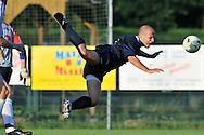 07-08-2008 Voetbal:BSV Sebnitz 68:Willem II: Sebnitz<br /> Oefenwedstrijd Willem II in Sebnitz<br /> Steef Nieuwendaal gaat hard onderuit en krijgt een strafschop waaruit de 1-1 valt<br /> Foto: Geert van Erven