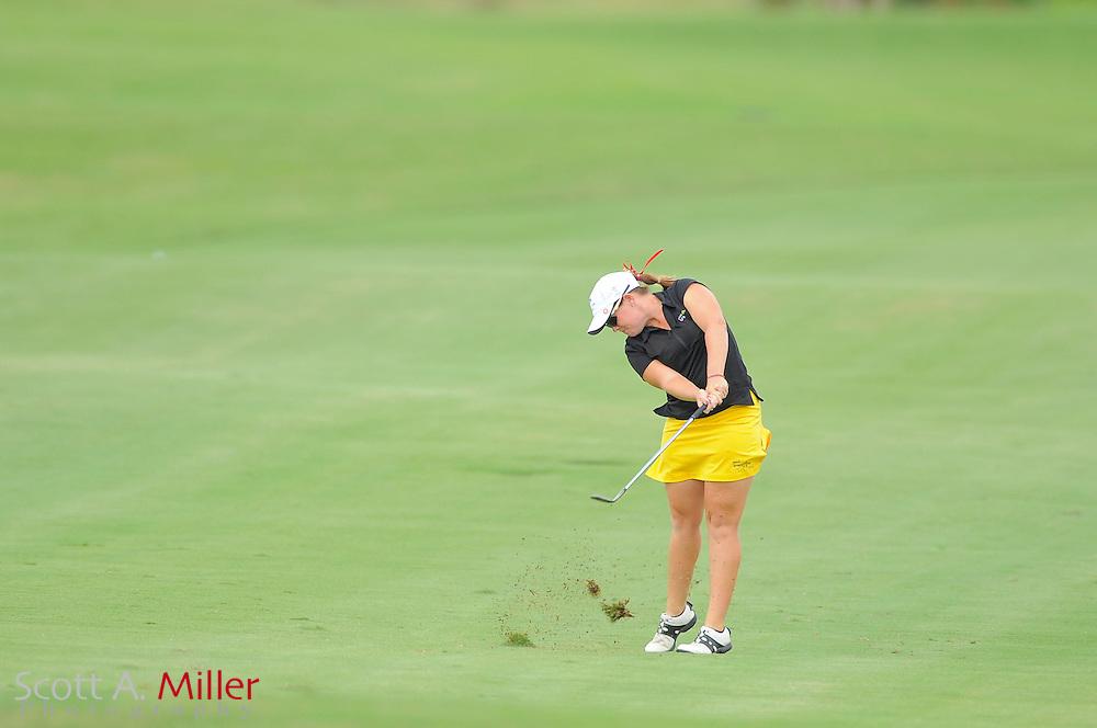 Stephanie Connelly during the final round of the Daytona Beach Invitational  at LPGA International on Sep 30, 2012 in Daytona Beach, Florida...©2012 Scott A. Miller