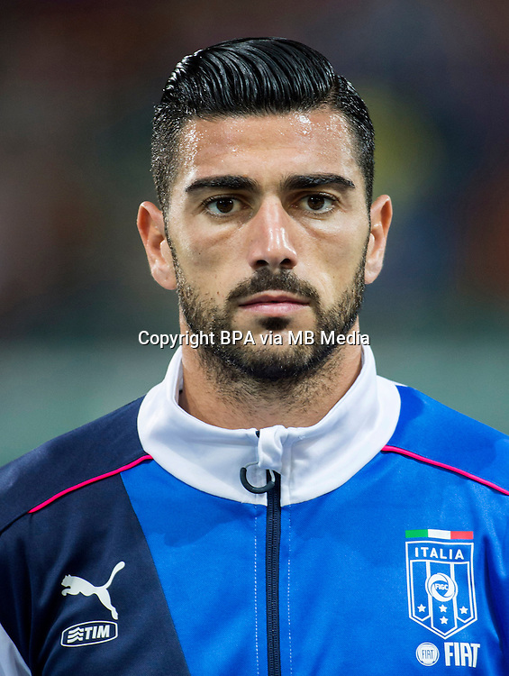 Uefa Euro FRANCE 2016 - <br /> Italy National Team - <br /> Graziano Pelle