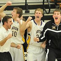 12.13.2013 Elyria Catholic at Avon Boys Varsity Basketball