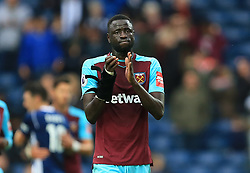 Cheikhou Kouyate of West Ham United applauds the fans - Mandatory by-line: Paul Roberts/JMP - 16/09/2017 - FOOTBALL - The Hawthorns - West Bromwich, England - West Bromwich Albion v West Ham United - Premier League