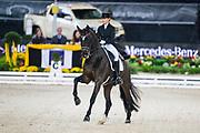 Morgan Barbancon Mestre - Sir Donnerhall II Old<br /> Stuttgart German Masters 2018<br /> © DigiShots