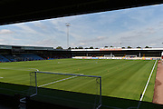 The Britcon stand before start of play, the Sky Bet League 1 match between Scunthorpe United and Millwall at Glanford Park, Scunthorpe, England on 22 August 2015. Photo by Ian Lyall.