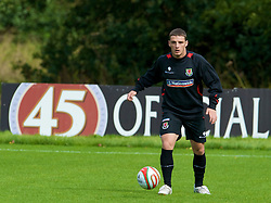 CARDIFF, WALES - Thursday, September 4, 2008: Wales' Jason Koumas during a training session at the Vale of Glamorgan Hotel ahead of their opening 2010 FIFA World Cup South Africa Qualifying Group 4 match against Azerbaijan. (Photo by David Rawcliffe/Propaganda)