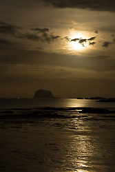 Super Moon in North Berwick 03 December 2017; The Super Moon rises above the Bass Rock at North Berwick, East Lothian.<br /> <br /> (c) Chris McCluskie | Edinburgh Elite media
