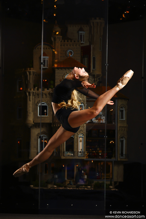 Dance As Art New York City Photography Project Astolat Castle Series with dancer, Mykaila Symes