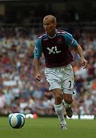 Photo: Tony Oudot. <br /> West Ham United v Manchester City. Barclays Premiership. 11/08/2007. <br /> Freddie Ljungberg of West Ham