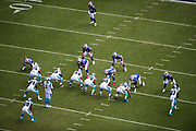 September 17, 2017: BUFvsCAR. Panthers vs Bills view from above.