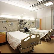Stanza letti del pronto soccorso dell' Ospedale S.Maria di Misercordia Albenga (SV) .22 agosto 2011