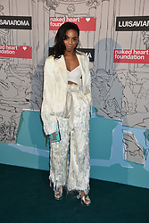Pippa Bennett-Warner at the Fabulous Fund Fair in aid of Natalia Vodianova's Naked Heart Foundation in association with Luisaviaroma held at The Round House, Camden, London England. 18 February 2019.