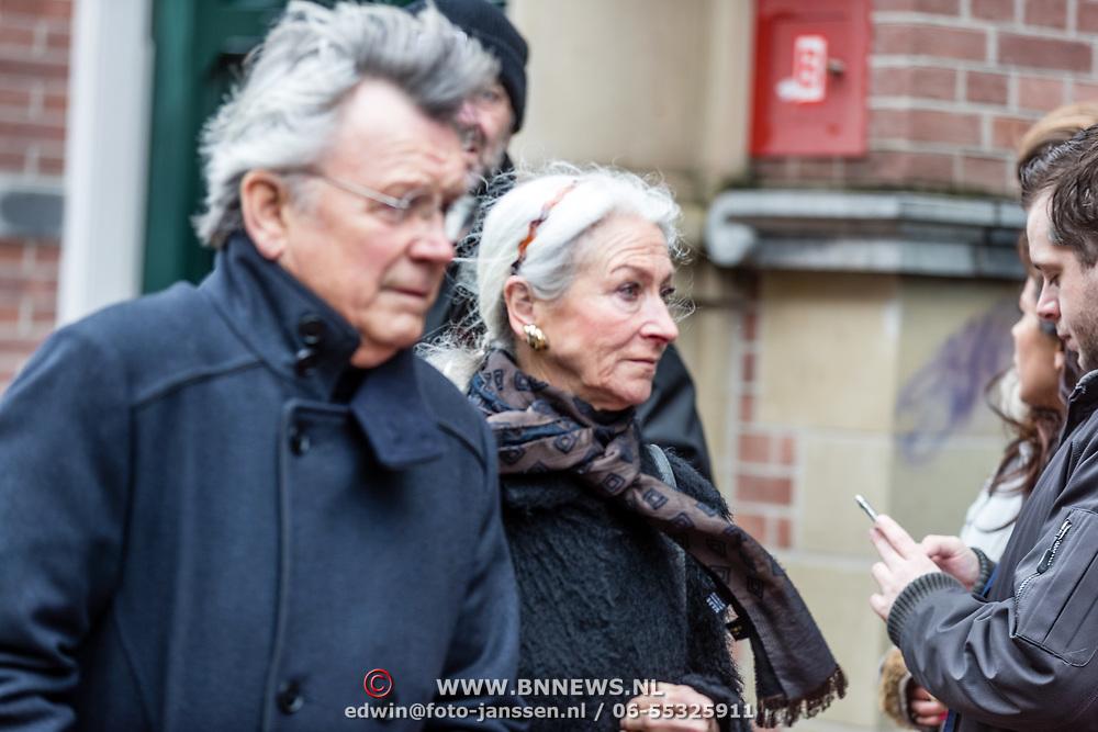 NLD/Amsterdam//20170309 - Herdenkingsdienst Guus Verstraete,